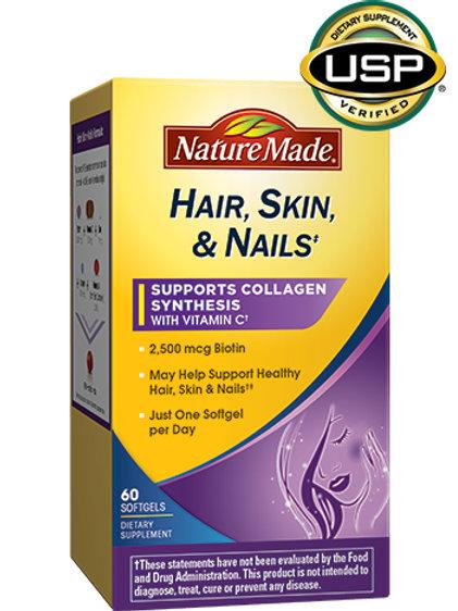 Hair Skin and Nails Liquid Softgels