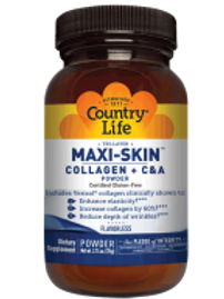 Country-Life,MAXI-SKIN (POWDER) Collagen + C&A