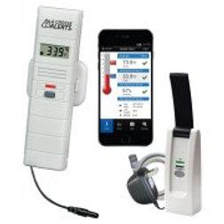 La Crosse Wireless Temperature and Humidity Monitor with Dry Temperature Probe