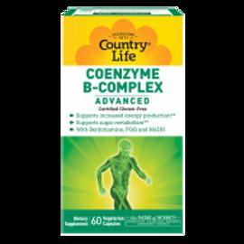 Country-Life,Coenzyme B-Complex Advanced (60-Vegicap)