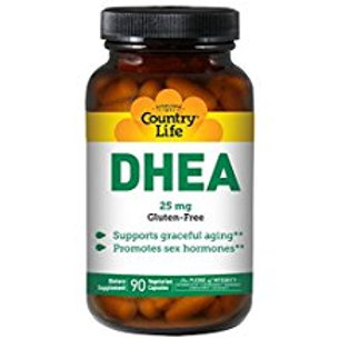 Country-Life,DHEA 25 mg (90-Vegicaps)