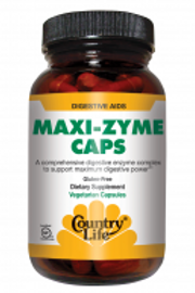 Country-Life,MAXI-ZYME™ Extra Strength (60-Vegicaps)