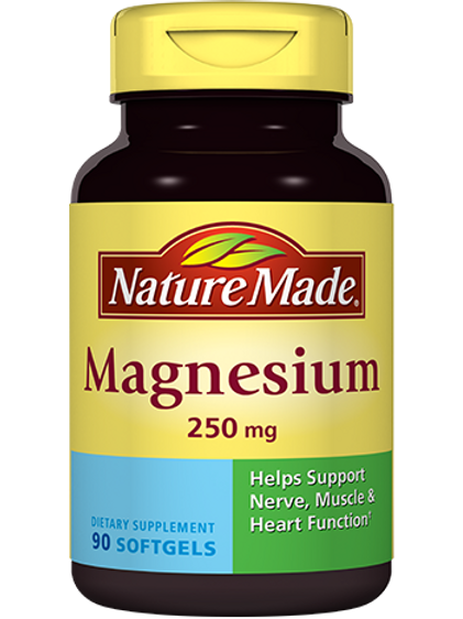 Magnesium 250 mg Liquid Softgels