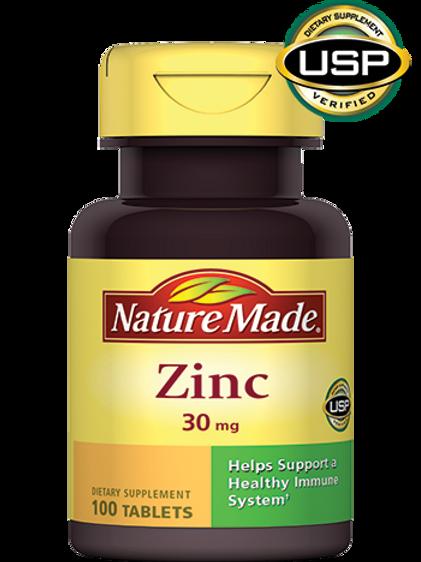 Zinc 30 mg Tablets