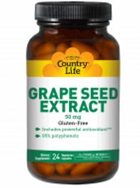 Country-Life, Grape Seed Extract 50 mg