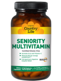 Country-Life,SENIORITY MULTIVITAMIN with Digestive Enzymes