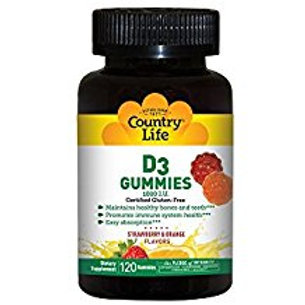Country-Life, D3 Gummies