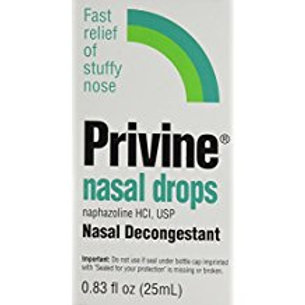 Privine Nasal Drops-0.83 oz