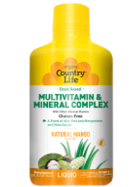 Country-Life,Food Based Liquid Multivitamin and Mineral Complex