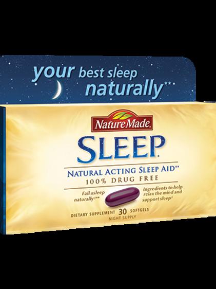 Nature Made Sleep Liquid Softgels