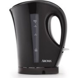 Aroma 6-Cup Electric Water Kettle, Black