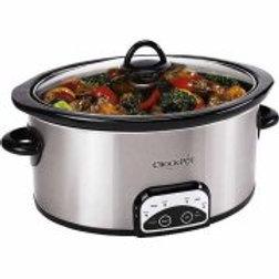Crock-Pot 7-Quart Smart Pot Programmable Slow Cooker, Stainless Steel