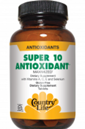 Country-Life,Super 10 Antioxidant(60-Tablet)