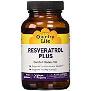 Country-Life, Resveratrol Plus(120Vegicaps)
