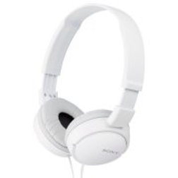 Sony MDR-ZX110AP Extra Bass Wired Headphones with Mic, Smartphone Headset for iP