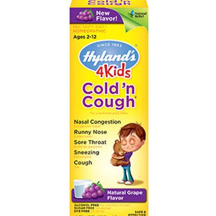 Hyland's 4 Kids Cold 'n Cough Grape Flavor