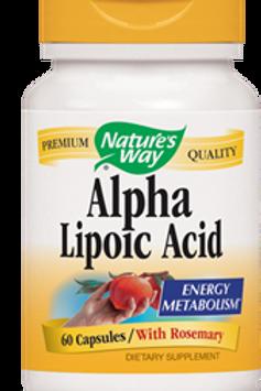 Nature's Way Alpha Lipoic Acid, 60 Capsules