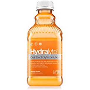 Hydralyte - Oral Electrolyte Solution, Ready to Drink Hydration Formula (Orange,