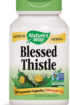 Nature's Way Blessed Thistle  390 mg, 100 Veg Capsules