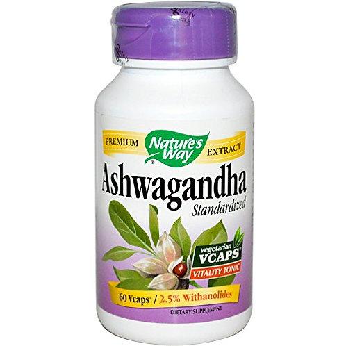 Nature's Way - Ashwagandha, 60 veggie caps