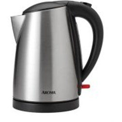 Aroma 1.7 L Electric Kettle, Stainless Steel
