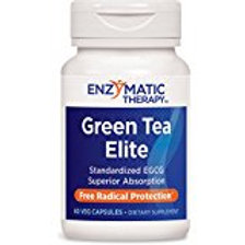 Enzymatic Therapy Green Tea Elite with EGCG Vegetarian Capsule, 60 Count