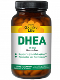 Country-Life, DHEA 25 mg (30-Vegicaps)