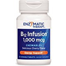 Enzymatic Therapy B-12 Infusion, 30 Chewable Tablets