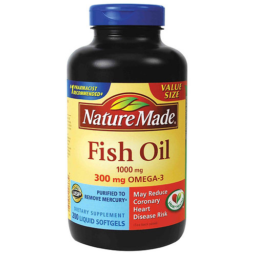 FISH OIL 1000 MG VALUE SIZE