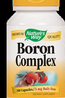 Nature's Way Boron Complex, 100 Capsules