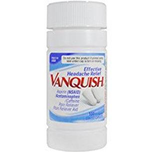 Vanquish Headache Relief with Caffeine Caplets, 100 Count