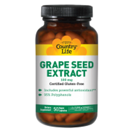 Country-Life,Grape Seed Extract 100 mg