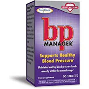 Enzymatic Therapy BP Manager Tablets, 90 Count