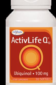 Enzymatic Therapy Activlife Q10 Ubiquinol Supplement, 30 Count