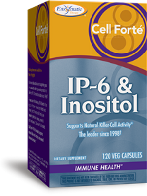 Enzymatic Therapy Cell FortT IP-6 Inositol 120 Veg Capsules