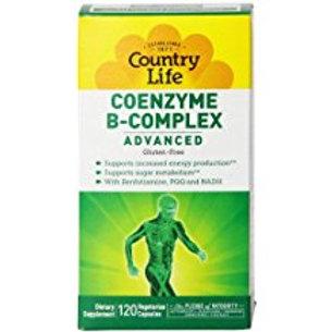 Country-Life,Coenzyme B-Complex Advanced (120-Vegicap)
