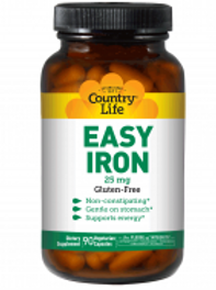 Country-Life,Easy Iron 25 mg