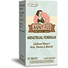 Enzymatic Therapy Aunt Flo Menstrual Formula Tablets, 20 Count
