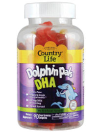 Country-Life,DHA Gummy Dolphin Pals