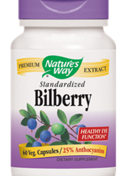 Nature's Way Bilberry Standardized 60 Caps