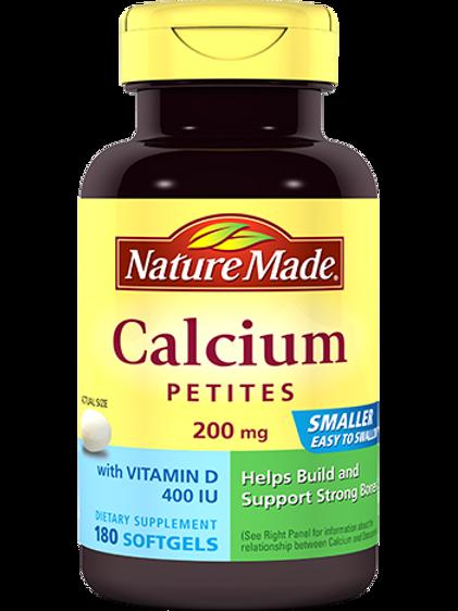 Calcium Petites 200 mg Liquid Softgels
