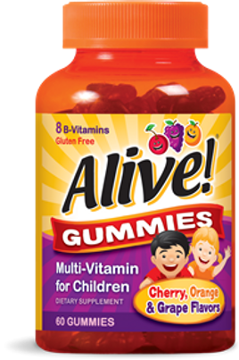 Nature's Way Alive! Multi-Vitamin Gummies for Children, 60 Count