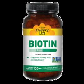 Country-Life, Biotin 1000 mcg