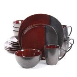 Gibsob Volterra 16pc Dinnerware Set