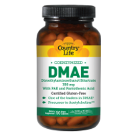 Country-Life,DMAE 350 MG with PAK and Pantothenic Acid