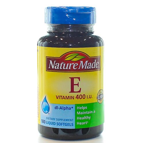 Vitamin E 400 IU dl-Alpha Liquid Softgels