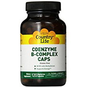 Country-Life, Coenzyme B-Complex Caps (120-Vegicaps)