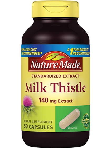 Milk Thistle 140 mg Capsules