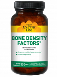 Country-Life,BONE DENSITY FACTORS® with Boron(100-Tablet)