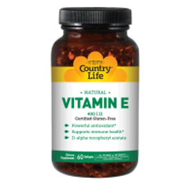 Country-Life, Natural Vitamin E 400 I.U.